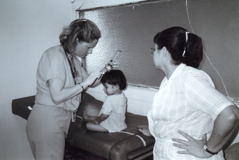 Dr. Jeanne Bramer, Honduras 2002 (at the time & place La Cima was born)