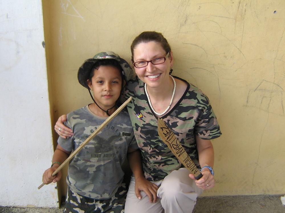 dental mission to Monteplacentero, Roatan, Honduras