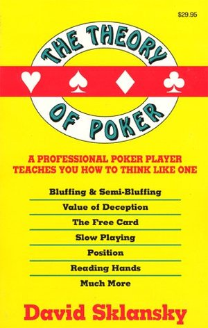 FREE E-BOOK: THE THEORY OF POKER