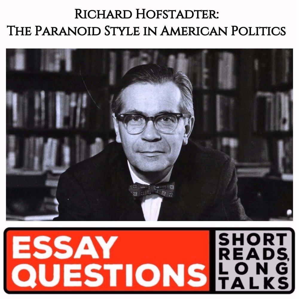 hofstadter essay