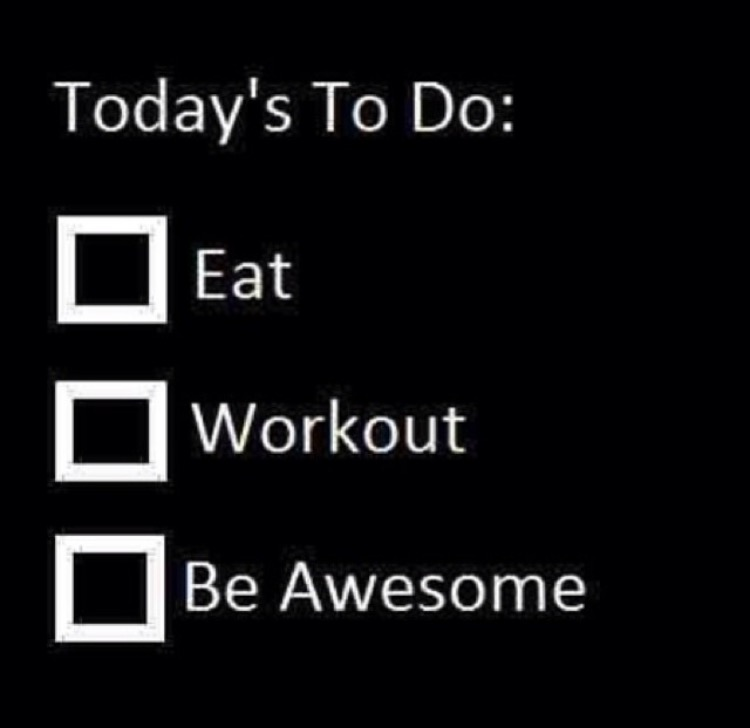 These should always be your daily goals of course!!