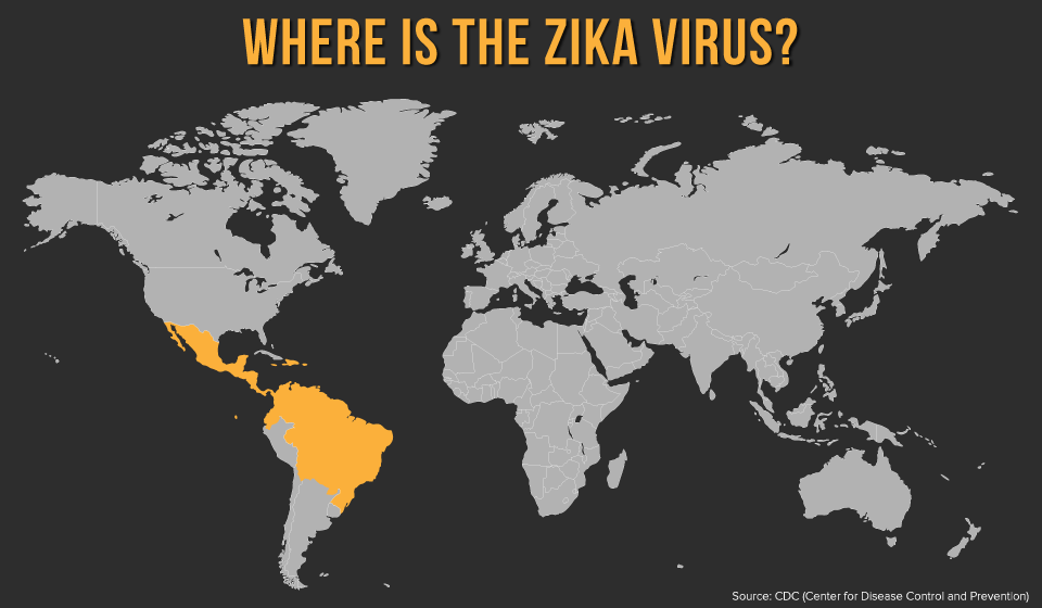 Mapping the Zika Virus