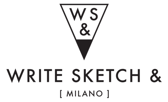 100% Italian, WriteSketch& notebooks are graphic delights that are also enormously practical; made with the finest paper from Italy the thread-stitched binding allows you to fully open each page and write...or sketch...or design to your heart's content. With different graphic designs on each cover, each book is really 2 books in one.