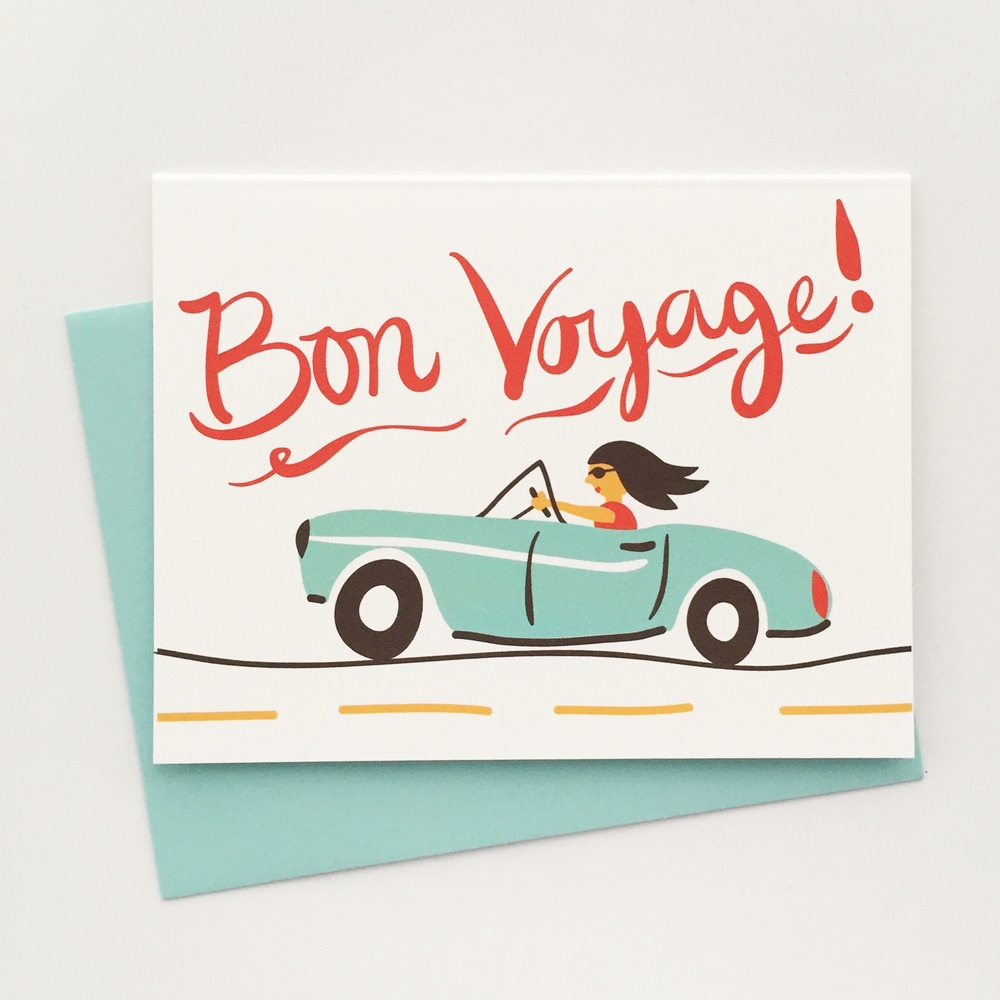 Bon Voyage — Luna Stationery