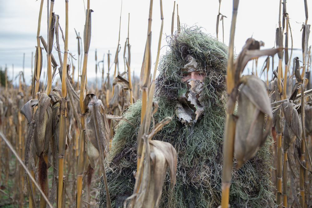 Chrystofer in Ghillie Suit, 2015
