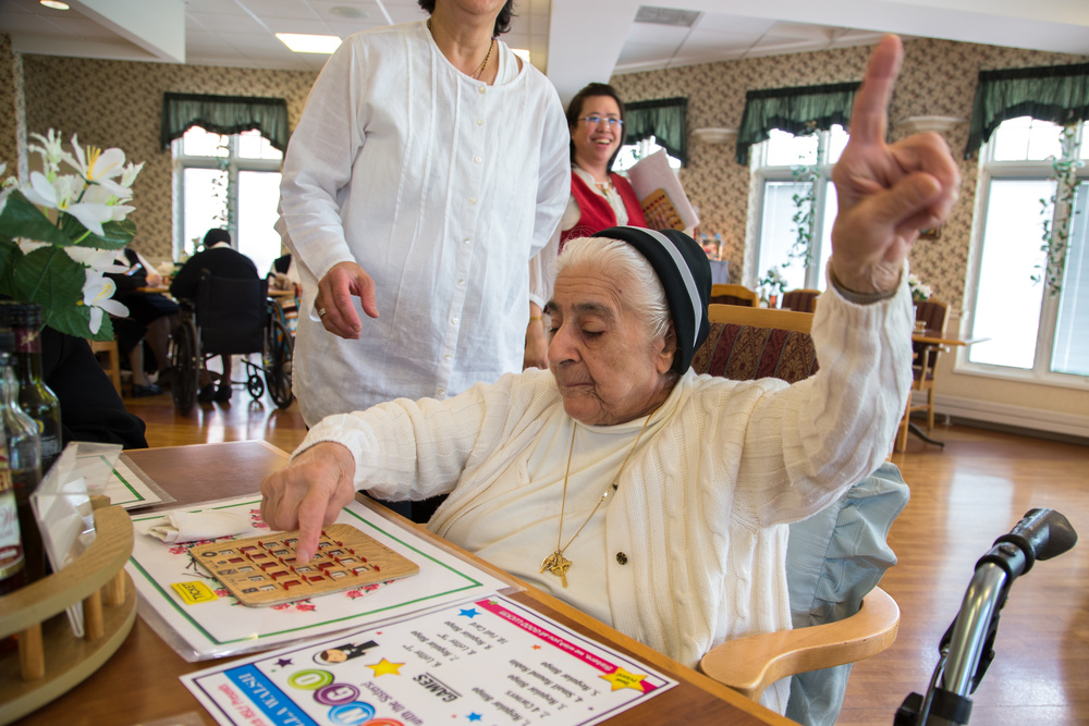 "What is your biggest guilty pleasure?   Sr. Mary: ""Guilty pleasure? I would have to say, homemade Italian cookies and game shows. I love to watch game shows—especially Wheel of Fortune.  I also enjoy playing Bingo with the other Sisters."""