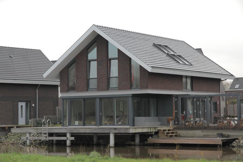 Kat Koree Architecten Woningbouw particulier Harinxmaland Sneek