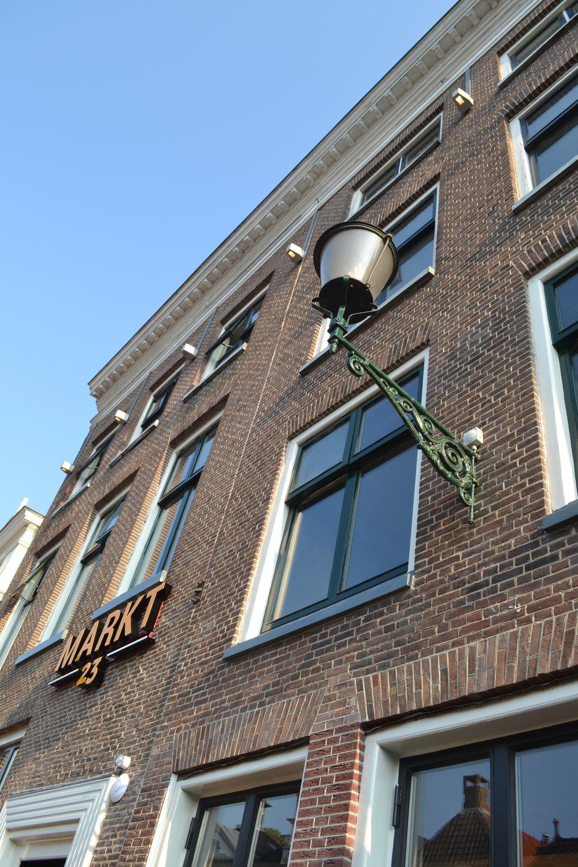 Kat Koree Architecten verbouw renovatie voormalige Wijnberg Sneek Markt 23 Restaurant Markt23