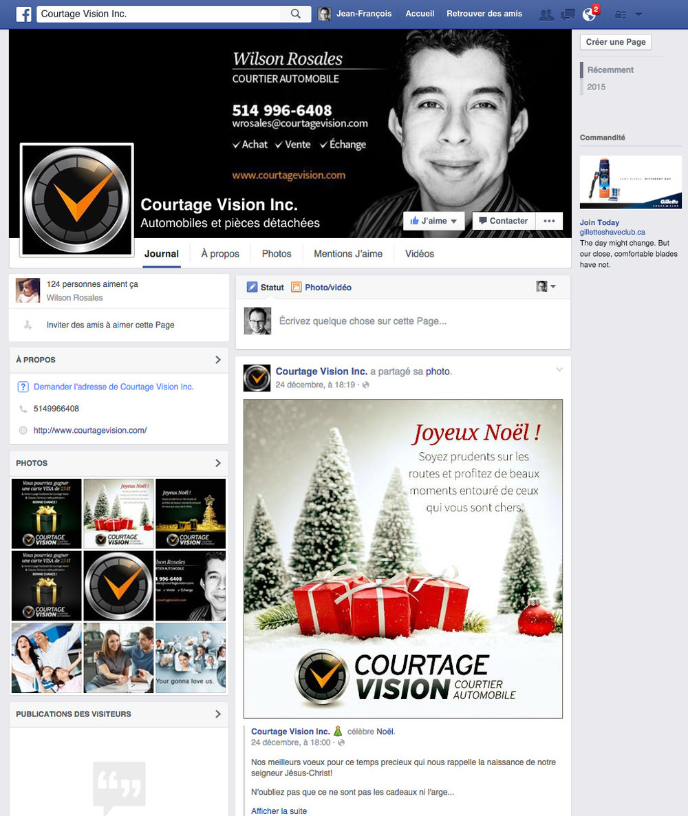 .... Design de visuels pour Facebook .. Facebook visuals ....