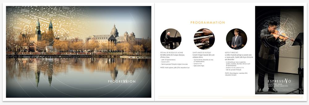 .... Brochure de commandites .. Sponsorship brochure ....
