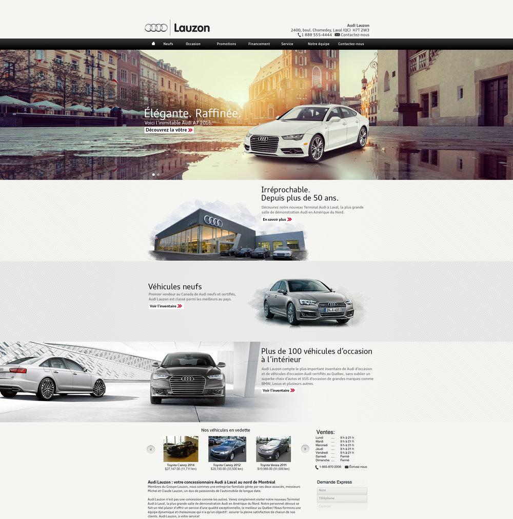 Audi Lauzon
