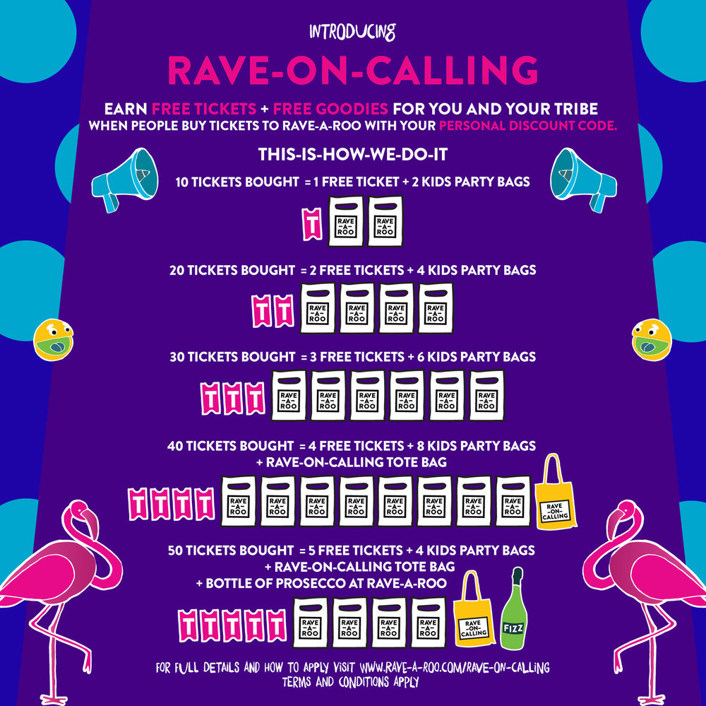 RAVE-ON-CALLING