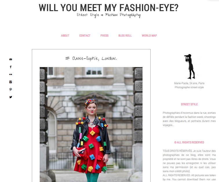 Will you meet my Fashion eye, May 2014