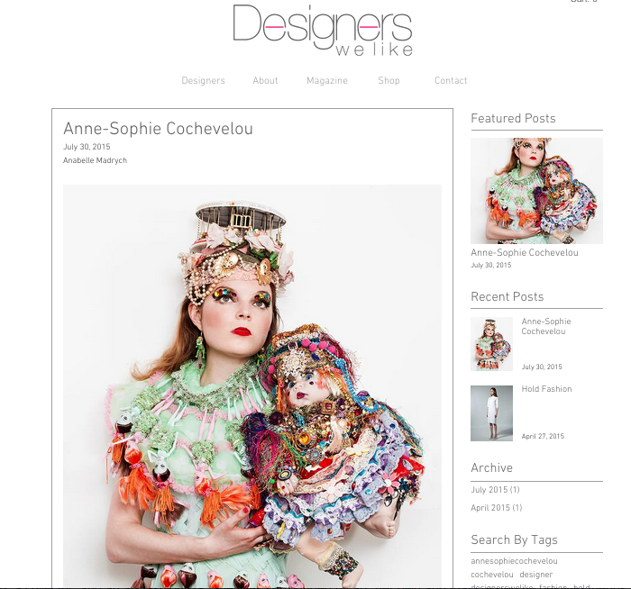Designer We like, June 2015, UK