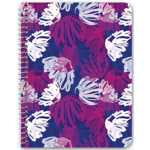 Spiral Notebook in Gleam Floral $14.00
