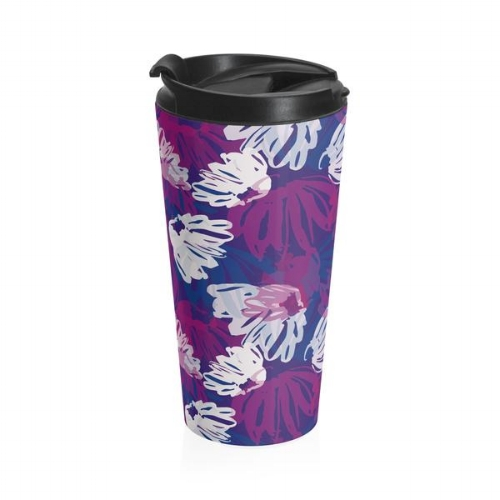 Stainless Travel Mug in Gleam Floral $39.00