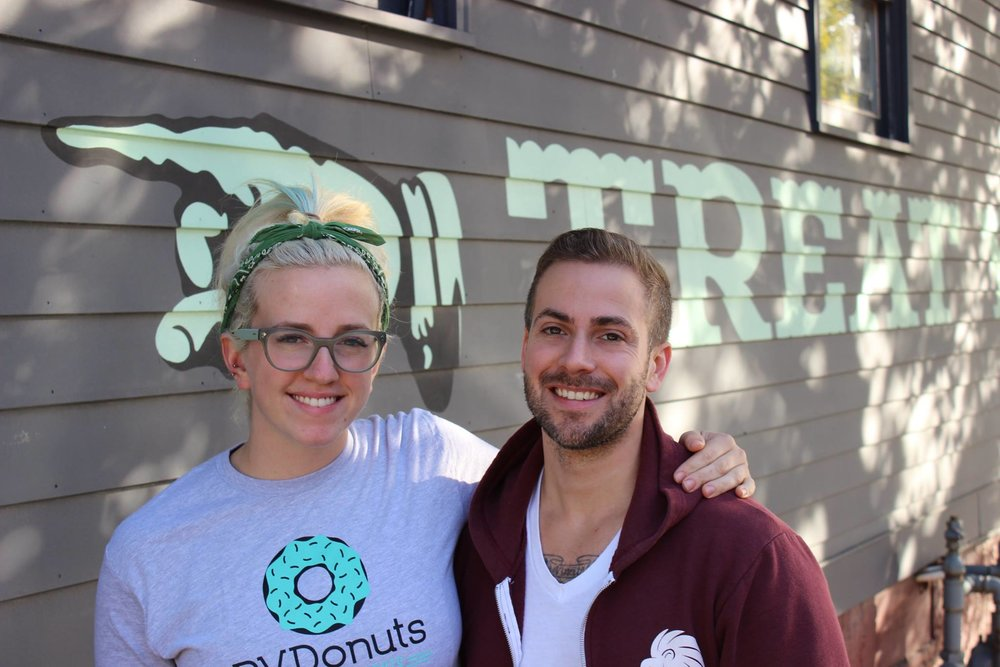 Lori and Paul Kettelle, Owners of PVDonuts - if you ever see us around town, make sure to say hi!
