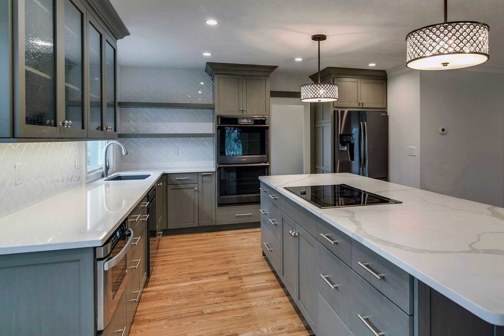 pebble_gray_kitchen_jewel_island_wood_shelves_herringbone.jpg