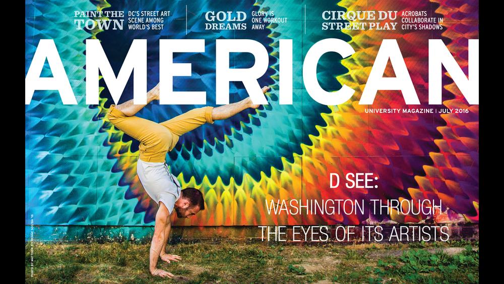 American University Magazine 2016