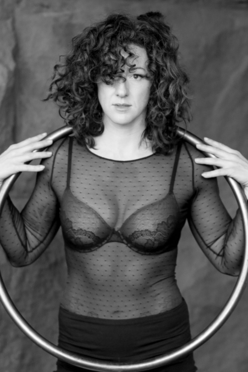 GWYNNE FLANAGAN  has been a fixture in the Washington DC circus scene since 2010. Originally from California, she studied theater arts at San Francisco State University, and completed an MFA in Acting from the American Conservatory Theater.  In 2012, Flanagan graduated from the New England Center for Circus Arts Performance Program, with a focus on aerial fabric and duo trapeze.  Gwynne believes the key to transformative storytelling demands evocative and visceral physical engagement. She is passionate about creating performances that bridge the  gap between contemporary theater and circus. Early on in her career, Gwynne worked as a stage fighter and stunt woman in Taiwan, and was drawn toward circus while living in New York City.    Gwynne is a founding member of Girls on Trapeze and Infinite Stage Theater. She has routinely performed with; Nimble Arts, Show Circus, Arachne Aerial Arts, Artisan Athletics, In the Dark Circus Arts, New York Circus Arts Academy, The Skybox, AirBorne DC, Zip Zap Circus, Deviated Theatre, and In-Flight Theater Company. Flanagan also performs regularly with her duos, Ciel Aerial and Forever Marzipan.   http://www.gwynnewithwings.com/