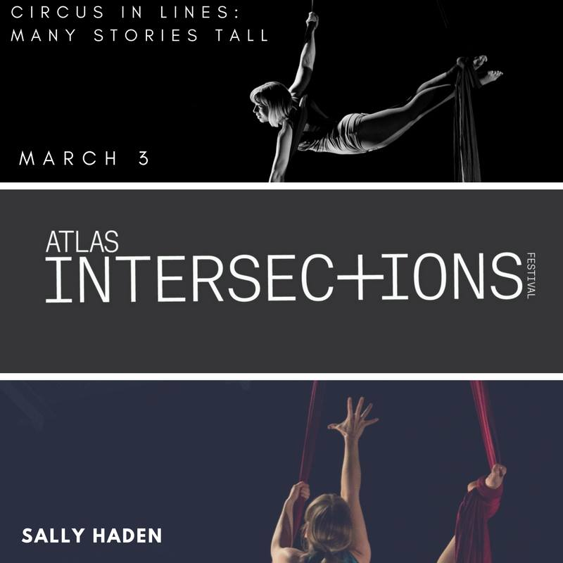 Join us for  Circus in Lines: Many Stories Tall  on March 3 at 12:45 PM as a part of the INTERSECTIONS festival 2018 at the Atlas Performing Arts Center. http://www.atlasarts.org/event/street-light-circus/