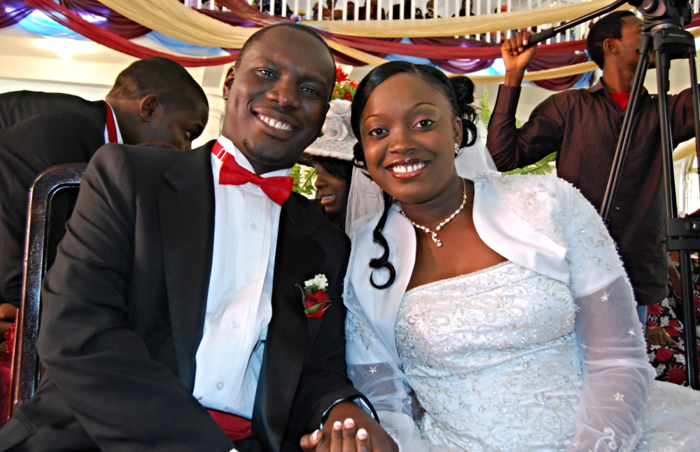 Wedding Day Photo: 24th January 2009. (Photo credit: Promise Owolabi)