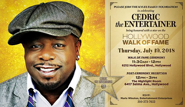 "balance is not something you find , its something you create, @cedtheentertainer will be honored with a STAR on the @officialhollywoodwalkoffame deserved , join us this thursday come see for yourself what friendship, love and respect. looks like as "" THE ONE "" takes his rightful place amongst the greats of Hollywood , everyone is invited. @comedygetdown @benballer @realdlhughley @eddiegriffin @bigboy @affioncrockett @arseniohall"
