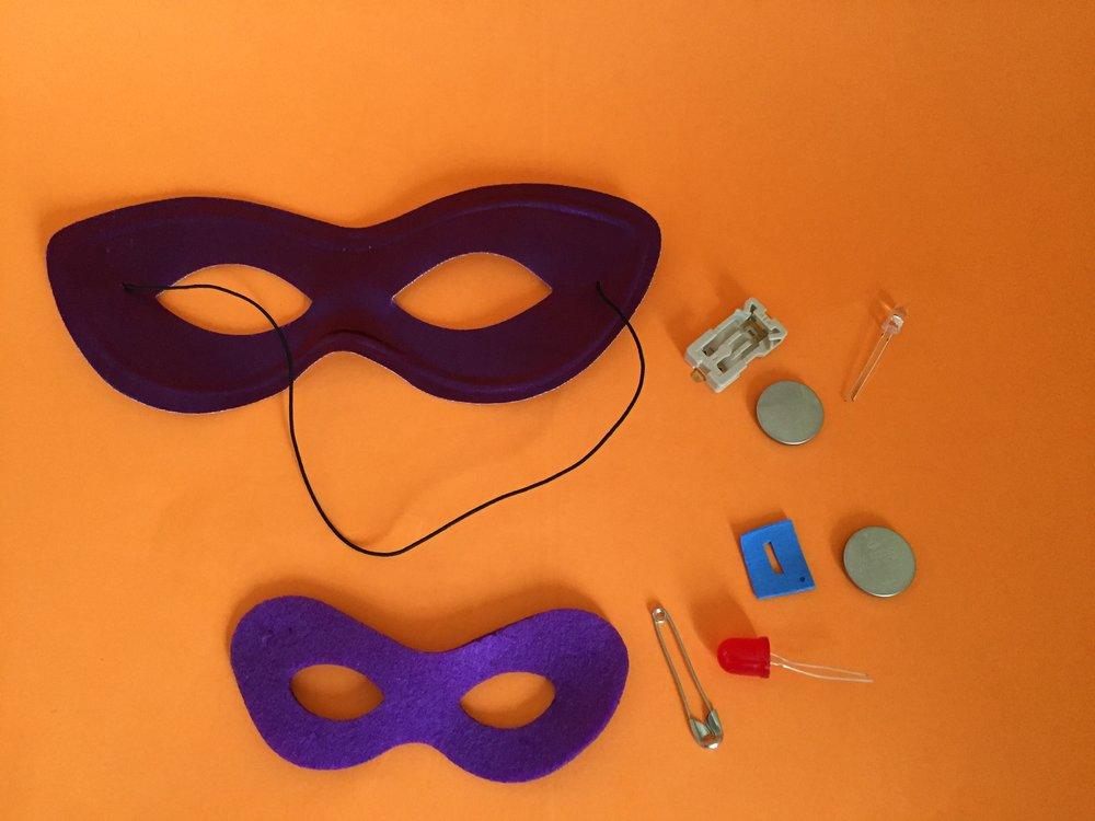 So all Superheroes need a mask...