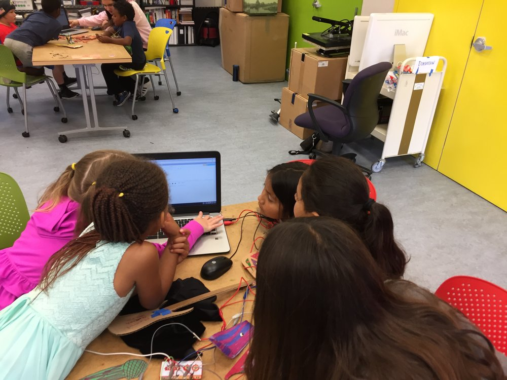 makey maker controllers with Scratch