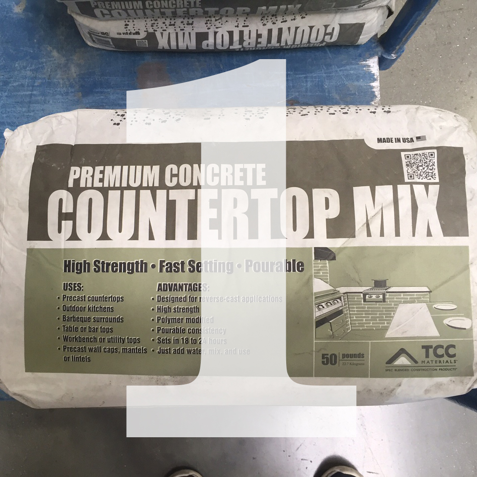 DIY Concrete Countertop — Whitney Architects