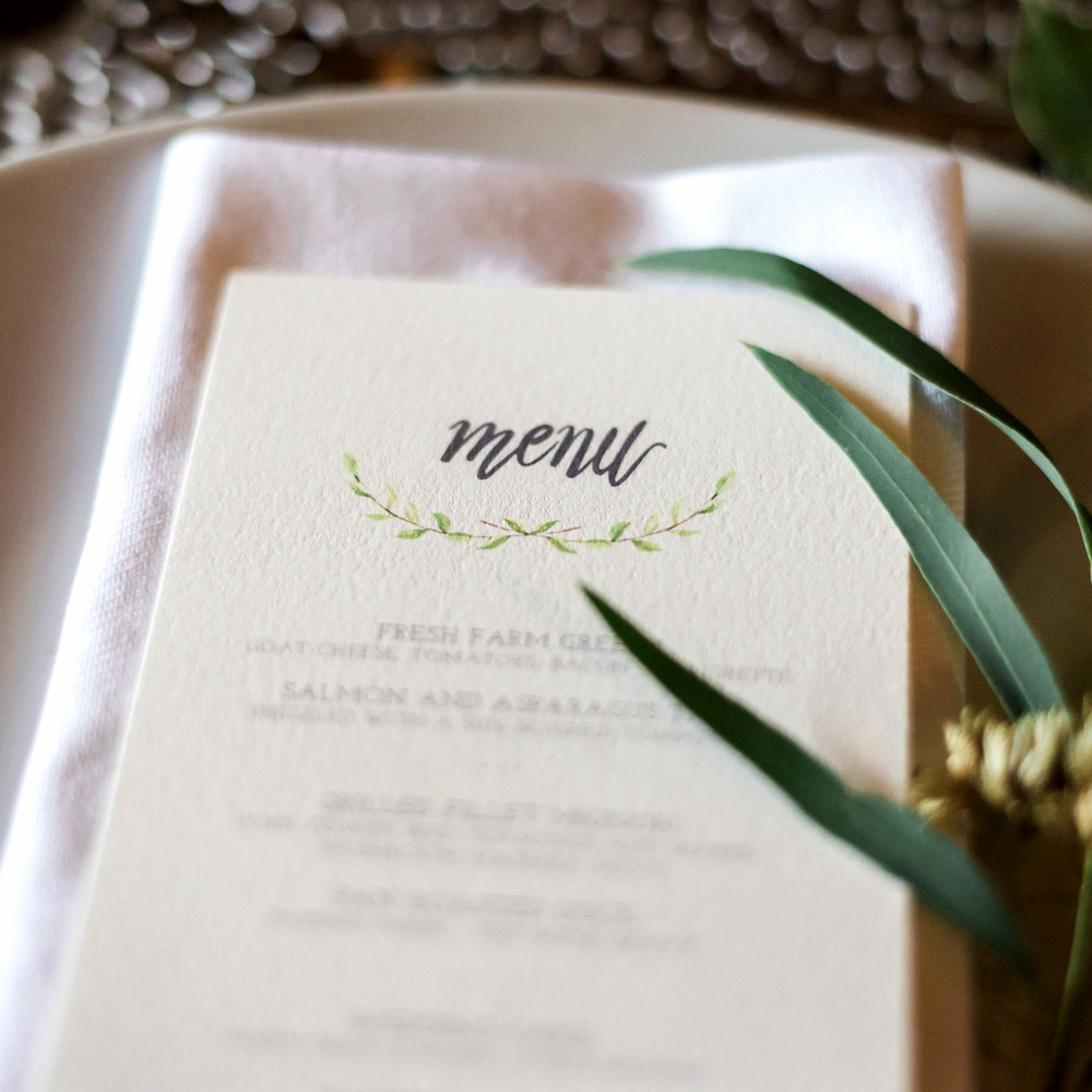 letterpress wedding invitations darling and pearl event menu-1.jpg