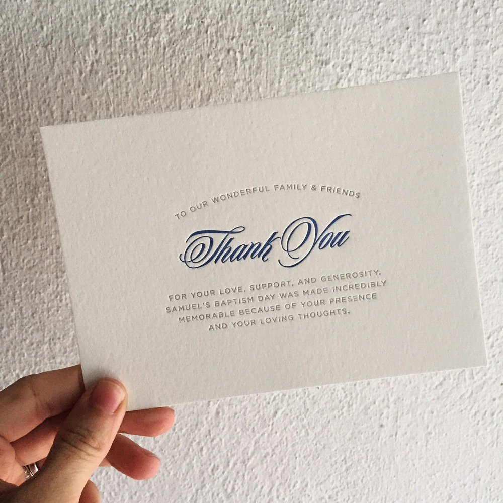 darling pearl letterpress wedding invitation baptism thank you.jpg