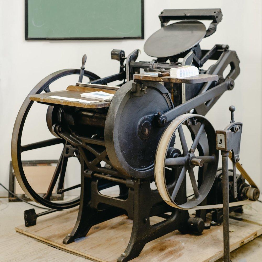 The Press - c. 1905