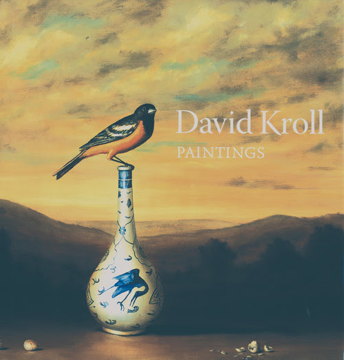 "DAVID KROLL ""Paintings"", 112 pp + 72 color plates monograph,   published by Marquand Books."