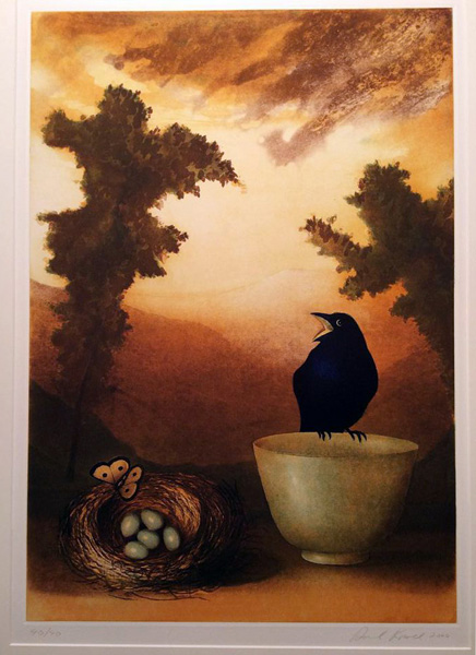 Untitled (Black Crow)