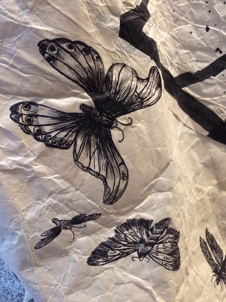 Untitled 3 (black and white dress)