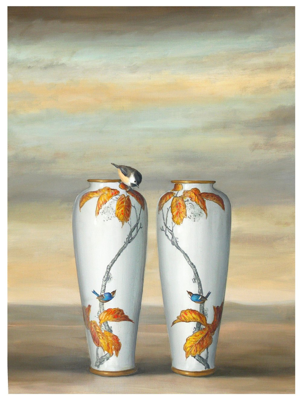 Swallow Vases