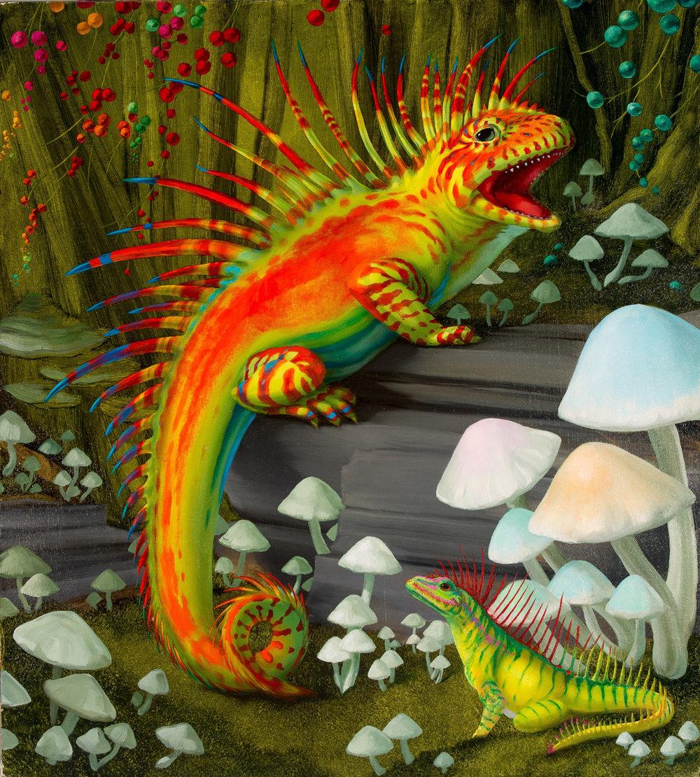 Amygdala Lizard