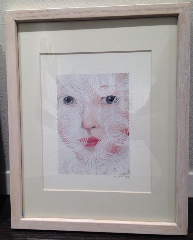 O.W. Circles (framed)