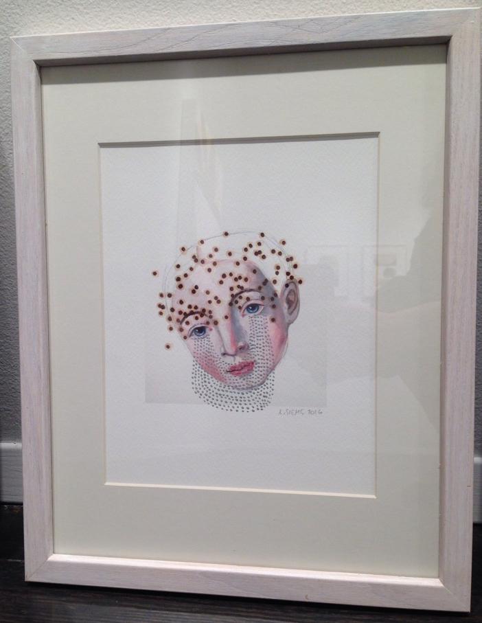 O.W. Silver Tears (framed)