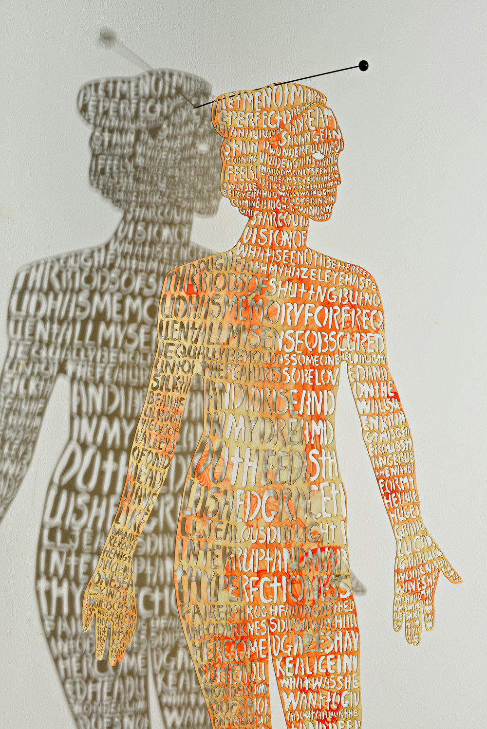 Girl, archival print on watercolor paper digitally laser cut, 31 ¼ x 13 (detail).jpg