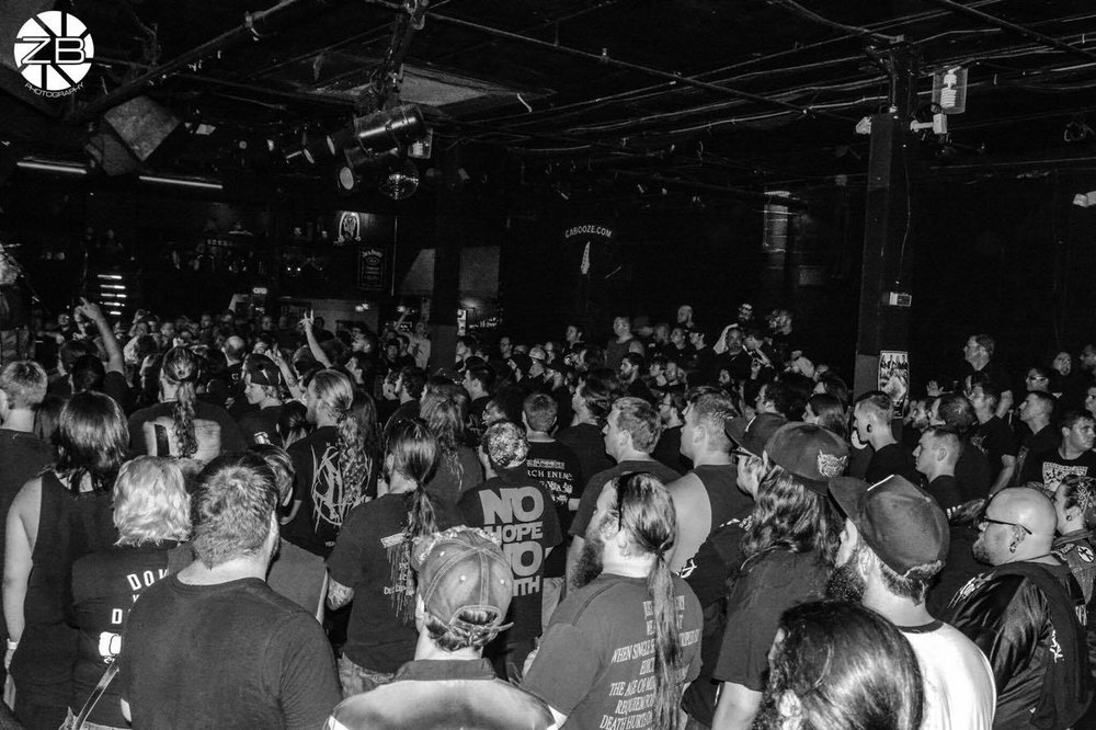 The crowd at Summer Slaughter - 8/2/16