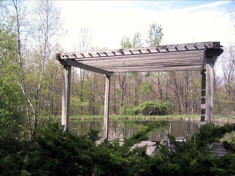 Privacy on your own gazebo