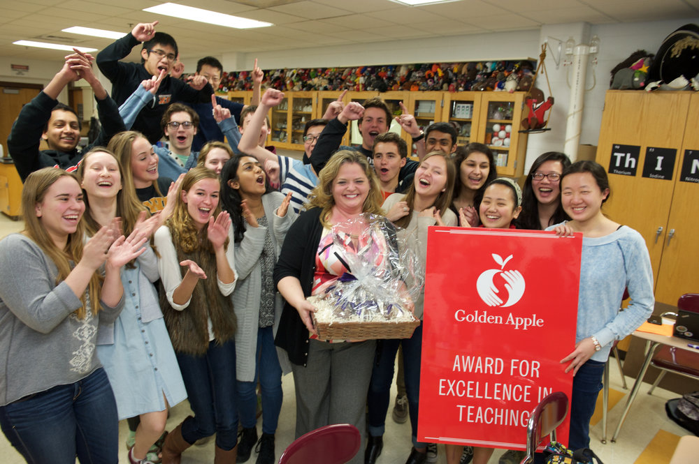 Golden Apple Award Surprise Visit