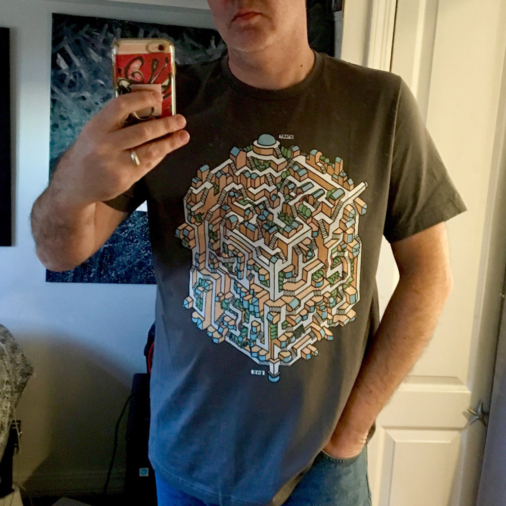 Maze shirts on Threadless