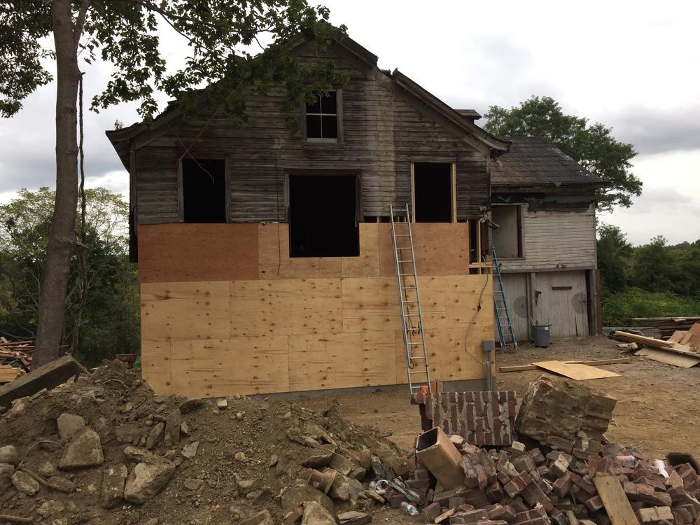 Rebuilding  September 2015