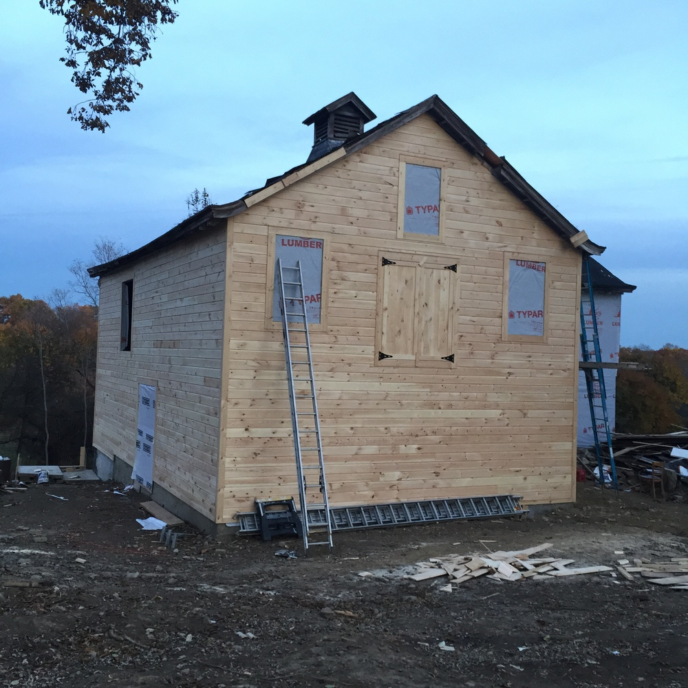 Siding and insulation  October 2015
