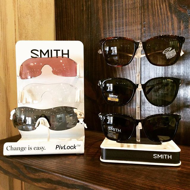 The sun is out and we've got a great selection of Smith glasses included in our 50% off sale! #gottahaveshades #shopnashville