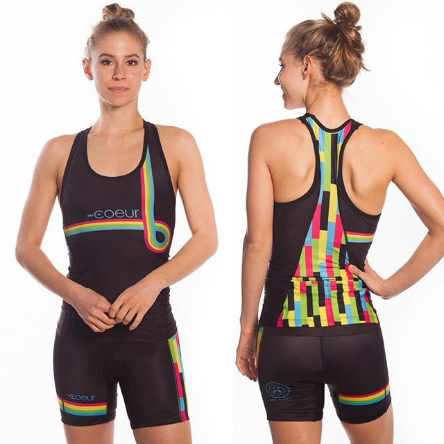 In need of a new tri suit? We have this fantastic Coeur in L and XL left....and at 50% off! #shopnashville #triathlete