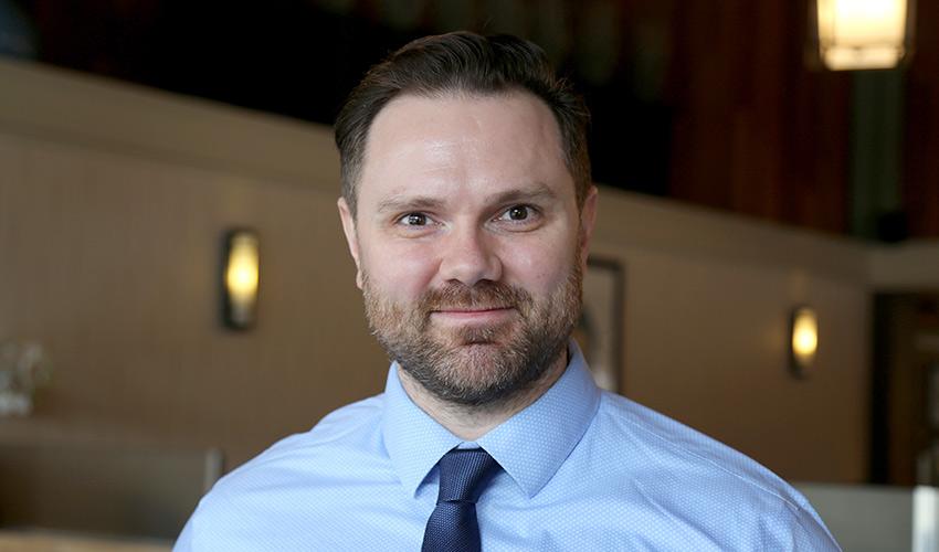 Brett McCollum has been named a 3M National Teaching Fellow
